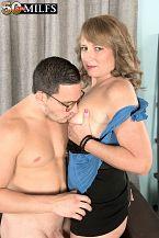 Catrina bonks her utmost friend's son