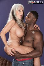 Sally takes on Jax Black's bigger in size than average cock